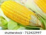 close up yellow fresh sweet...   Shutterstock . vector #712422997