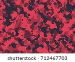seamless fashion tan elite red... | Shutterstock .eps vector #712467703
