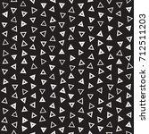seamless primitive jumble... | Shutterstock .eps vector #712511203