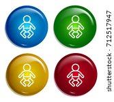baby multi color gradient...
