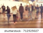 abstract blur people background | Shutterstock . vector #712525027