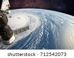 Hurricane Harvey  Seen From Th...