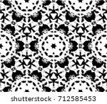 halftone background. grunge... | Shutterstock . vector #712585453