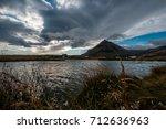 village in iceland near...   Shutterstock . vector #712636963