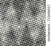 abstract intricate zigzag motif ... | Shutterstock .eps vector #712646017