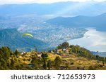 high angle aerial view of... | Shutterstock . vector #712653973