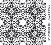 wedding seamless pattern for... | Shutterstock .eps vector #712655437