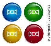 bow tie multi color gradient...
