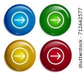 right multi color gradient...