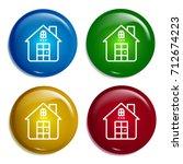 house multi color gradient...