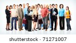 group of business people.... | Shutterstock . vector #71271007