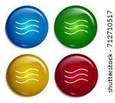 waves multi color gradient...