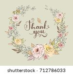 watercolor and ink illustration.... | Shutterstock . vector #712786033