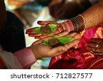 a traditional indian hindu... | Shutterstock . vector #712827577