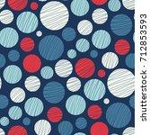 seamless abstract vector... | Shutterstock .eps vector #712853593