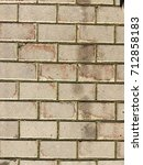 old street paving slab texture | Shutterstock . vector #712858183