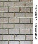 old street paving slab texture | Shutterstock . vector #712860517