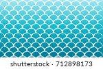 mermaid scale on trendy...   Shutterstock .eps vector #712898173