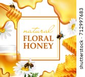 Natural Floral Honey Colorful...