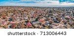 australian neighborhood  ... | Shutterstock . vector #713006443