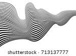 optical art abstract background ... | Shutterstock .eps vector #713137777