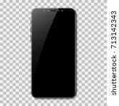new smartphone design isolated