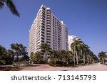 park shore  naples. florida....   Shutterstock . vector #713145793