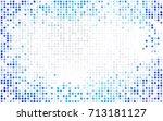 light blue vector modern... | Shutterstock .eps vector #713181127