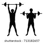 set of two vector black...   Shutterstock .eps vector #713182657