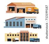 Warehouse Building  Industrial...