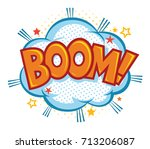 comic book effect. isolated...   Shutterstock .eps vector #713206087