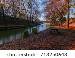 Litheos River With Autumn...