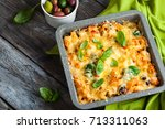 Oven Baked Pasta With Colourfu...