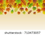 background with colourful... | Shutterstock .eps vector #713473057