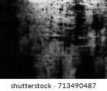 monochrome grunge texture | Shutterstock . vector #713490487