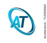 letter at logotype design for...   Shutterstock .eps vector #713500063