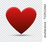 heart | Shutterstock .eps vector #713511463