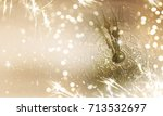 new years eve celebration... | Shutterstock . vector #713532697