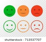 smiley icon set. emoticons...   Shutterstock .eps vector #713537707