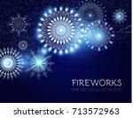 elegant fireworks background....