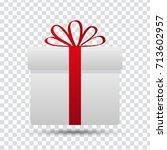 present | Shutterstock .eps vector #713602957