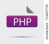 php file   Shutterstock .eps vector #713607733
