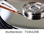computer hard disk | Shutterstock . vector #71361208