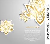 modern template design with...   Shutterstock .eps vector #713617813