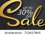 sale banner template design in...   Shutterstock .eps vector #713617843