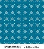 stylish decorative pattern | Shutterstock .eps vector #713632267