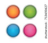 vector design element button   Shutterstock .eps vector #713650627