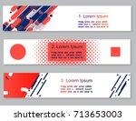 vector illustration abstract...   Shutterstock .eps vector #713653003