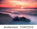 stone sleepwalking   Shutterstock . vector #713671513