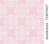 wallpaper seamless pattern.... | Shutterstock .eps vector #713674417